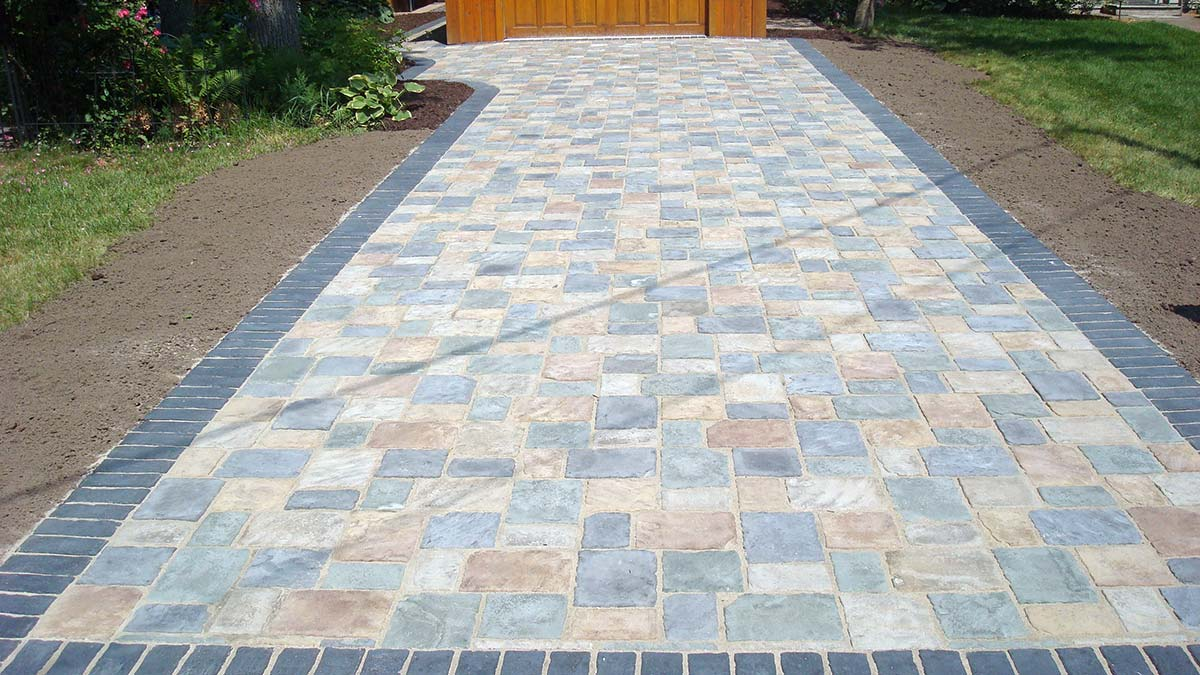 Paver, Brick or Stone Driveways, Pathways and Sidewalks and Path in Green Bay and Door County