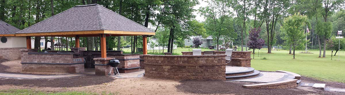 Outdoor Living and Patio Landscaping in Green Bay, Door County, and Upper Michigan